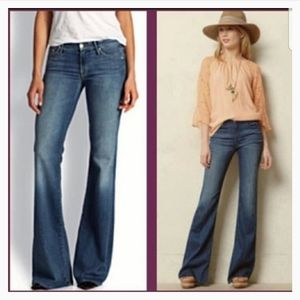 PAIGE Robertson Flare Wide Leg Relaxed Jeans